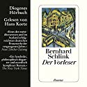 Der Vorleser Audiobook by Bernhard Schlink Narrated by Hans Korte