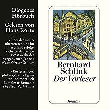 Der Vorleser Hörbuch von Bernhard Schlink Gesprochen von: Hans Korte