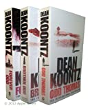 Dean Koontz Dean Koonz 3 books - Odd Thomas Series numbers 1, 2, 3 - Odd Thomas / Forever Odd / Brother Odd rrp £20.97
