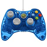 Control PDP Rock Candy de cable para Xbox 360, color Blueberry.