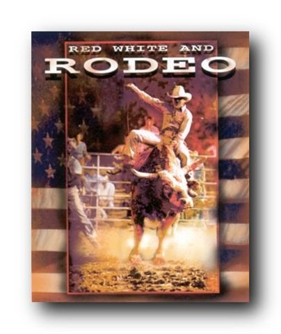 Vintage Western Rodeo Cowboy Horse Riding Wall Decor Art Print Poster (16x20) (Vintage Rodeo Posters compare prices)