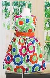 WANGSAURA Girls Kids Princess Wedding Party Flower Bow Gown Casual Tutu Dresses