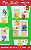 Math Number Houses for addition and subtraction 0-10: new method for Number Bonds & Fact Families (Math Education Help from www.learnandenjoy.com)