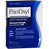 Panoxyl 10% Acne Cleansing Bar 4 Oz (6 Pack)