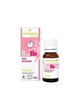 pranarom pranabb huile de de massage bio 10 ml ml huile essentielle immunit d s 3. Black Bedroom Furniture Sets. Home Design Ideas