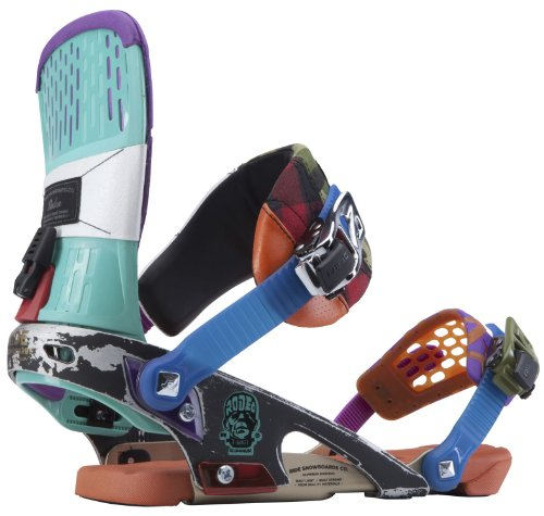 Ride Rodeo Snowboard Bindings Franken Mens Sz XL (11-15) Ride B00D7D3XPQ