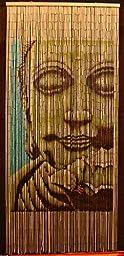 Bamboo Beaded Curtain Buddha Doorway Room Divider 90 Sreands NT/BB-01