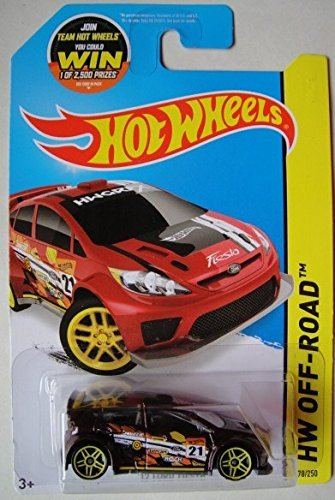 HOT WHEELS 2015 ROAD RALLY HW OFF-ROAD '12 FORD FIESTA 78/250