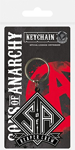 Sons Of Anarchy - SOA Reaper Crew Portachiave (6 x 4cm)