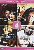Lifetime Films: Tru Drama Movies (Sex Lies Obsession/Unspoken Truth/Darkness Before Dawn, Evil)