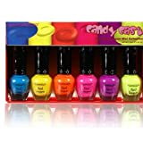 Kleancolor Neon Nail Lacquer - Candy Cast - Mini Collection (NPC593)