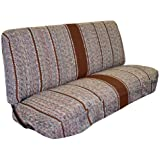 Full Size Truck Bench Seat Covers - Fits Chevrolet, Dodge, and Ford Trucks (Brown)