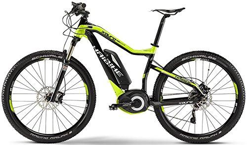 HAIBIKE XDURO HardSeven RX 27.5 E-Bike 400Wh 10-Gang XT 15 HB BPN schwarz/lime/grau Rh 45