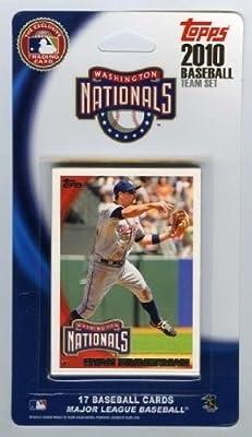 MLB Washington Nationals Licensed 2010 Topps® Team Sets