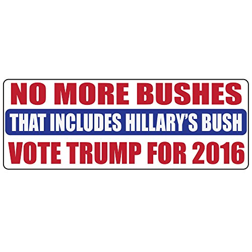 Donald trump for president anti hillary clinton and