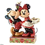 Disney Traditions Mickey and Minnie: Under the Mistletoe