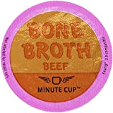 Minute Cup Beef Bone Broth Single Serve Cups, 15 Count