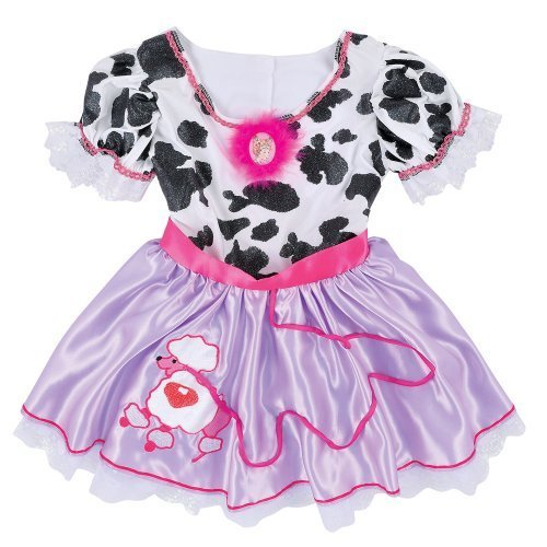 Creative Designs Fancy Nancy Cow Dress Costume (Styles may vary)