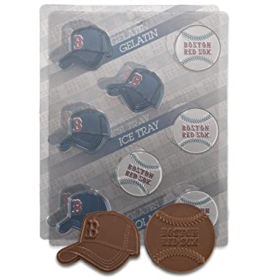 MLB Boston Red Sox Candy Mold (Pack of 2)