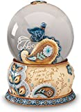 Perfectly Paisley Friend Musical Waterglobe, 6-Inch Tall, Plays Tune You've Got a Friend