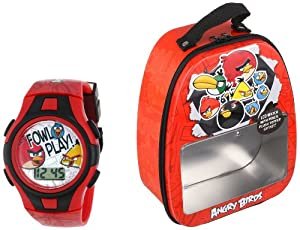 Angry Birds Kid's ANB032T Watch Set with Gift Box