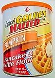 Carbon's Golden Malted Pancake & Waffle Flour, Pumpkin, 16-Ounce Can