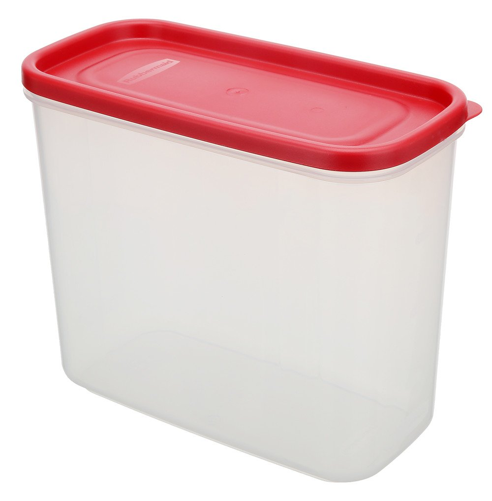 Rubbermaid Dry Food Storage Container, 8-Piece Set, Chili