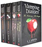 L. J. Smith Vampire Diaries Books 1 to 6 (4 Books) Set Pack ( The Awakening + The Struggle, The Fury + The Reunion, Nightfall, Shadow Souls ) (The Vampire Diaries Collection)