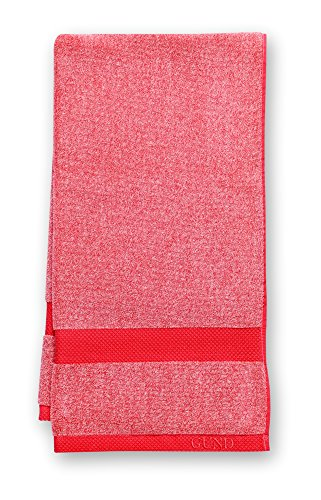 GUND Melange Bath Towel, Gund Red, 24'' By 48'' - 1