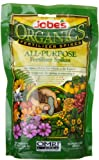 Jobes 6528 Organic All Purpose Fertilizer Food Spikes, 50-Pack