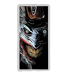 Scary Character 2D Hard Polycarbonate Designer Back Case Cover for Sony Xperia C5 Ultra Dual :: Sony Xperia C5 E5533 E5563