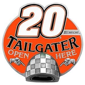 Tony Stewart #20 NASCAR Tailgater Bottle Opener Hitch Cover by Bergamot by Bergamot