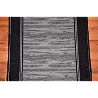 Dean Washable Carpet Rug Runner - Boxer Grey - Purchase By the Linear Foot