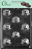 Cybrtrayd A003 Frog Bon-Bon Chocolate Candy Mold with Exclusive Cybrtrayd Copyrighted Chocolate Molding Instructions