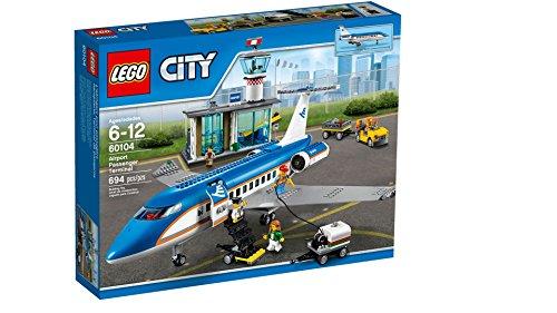レゴ (LEGO) シティ 空港ターミナルと旅客機 60104