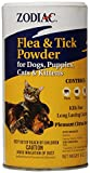 Zodiac Flea & Tick Powder for Dogs, Puppies, Cats, and Kittens, 6-ounce