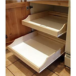 Rolling Shelves RSRTL203 Do It Yourself Cabinet Pull Outs