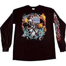 Tribal With Flames BFTS Long Sleeve Black