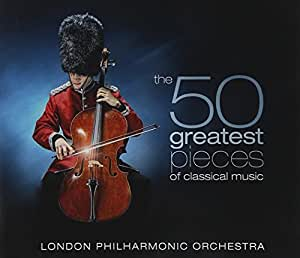 buy 50 of greatest classical pieces london philharmonic orchestra lpo x5 music x5cd105. Black Bedroom Furniture Sets. Home Design Ideas