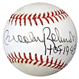 "Brooks Robinson Autographed Official MLB Baseball ""HOF 1983"" PSA/DNA #Y88196"