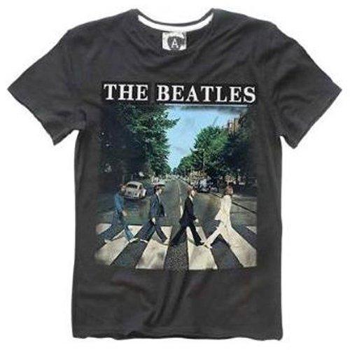 ビートルズ Tシャツ メンズS Abbey Road/AMPLIFIED(アンプリファイド)【オフィシャルグッズ】
