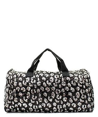 Large Black Sequin Shoulder Bag 118