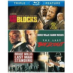 16 Blocks / Last Boy Scout / Last Man Standing [Blu-ray]