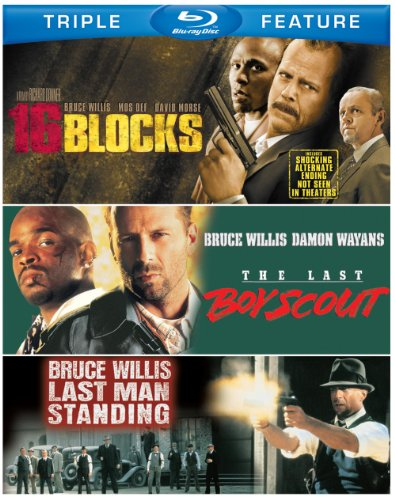 Bruce Willis Triple Feature (The Last Boy Scout / Last Man Standing / 16 Blocks) [Blu-ray]