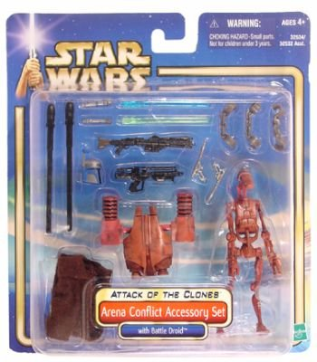 Star Wars: Episode 2 Arena Conflict Accessory Set (Star Wars Episode 2 Figures compare prices)