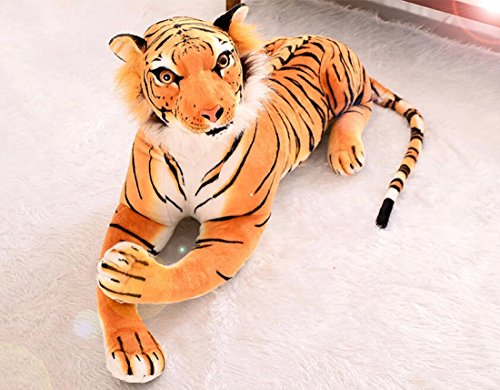 ぬいぐるみ  特大  虎/タイガー  大きい  動物  110cm   可愛い とらぬいぐるみ/虎縫い包み/とら抱き枕/お祝い/ふわふわぬいぐるみ