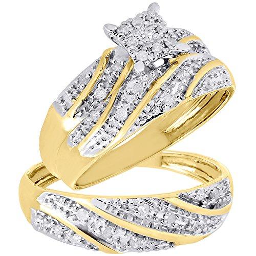 10k-yellow-gold-round-diamond-trio-set-matching-engagement-ring-wedding-band-027-cttw