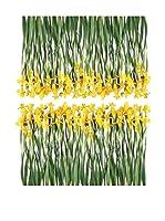 Ambiance Live Vinilo Decorativo Iris Flowers Multicolor