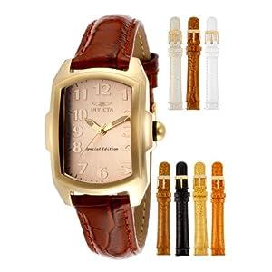 Invicta Women's 14992 Lupah Analog Display Swiss Quartz Brown Watch