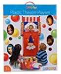 Let's Play Plastic Theatre Playset